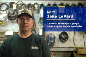 Meet Jake LePard, Small Engine Repair Specialist