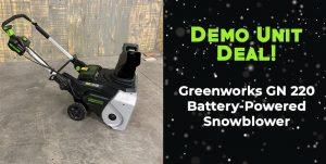 Greenworks GN 220
