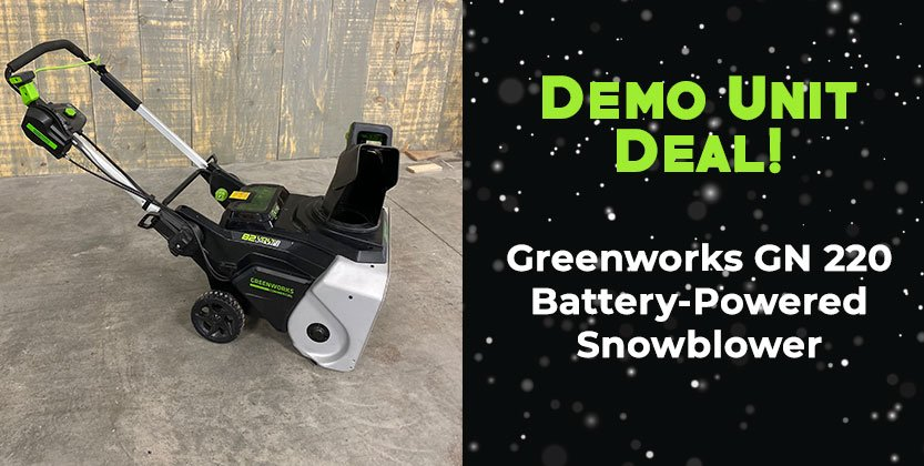Exclusive Deal – Greenworks Snowblower