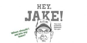 Hey, Jake! When is the best time to aerate my lawn? Do I need special tools?