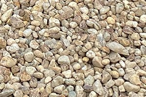 """2"""" Round River Rock - Brown"""